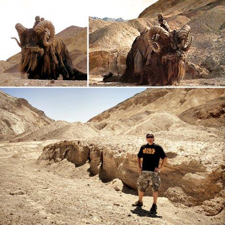 Bantha Valley - The Jundland Wastes, Desolation Canyon, Death Valley
