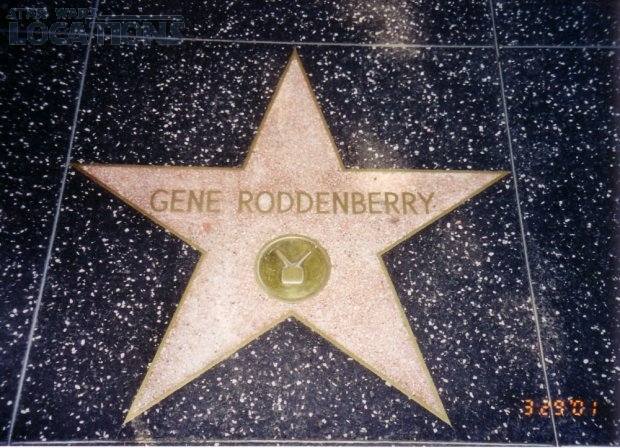 Gene Roddenberry: 6683 Hollywood Blvd.