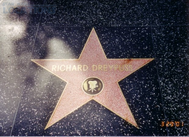 Richard Dreyfuss 7021 Hollywood Blvd.