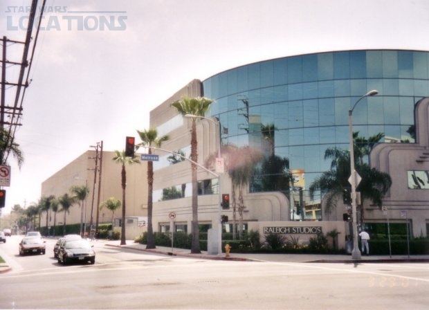 The Death Star Explosion was filmed at Producers Studios, 