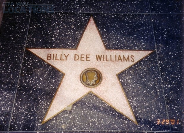 Billy Dee Williams: 1521 Vine Street