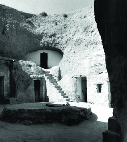 Troglodyte home similar to the Hotel Sidi Driss in Matmata (aka