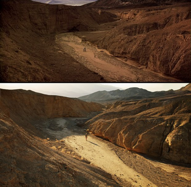 Artoo's Arroyo, Artist's Palette, Death Valley