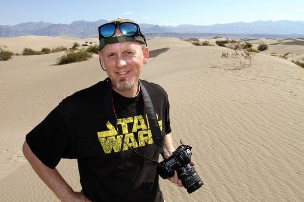 Mesquite Flat Dunes at Stovepipe Wells, Death Valley or the Dune Sea on Tatooine, August 2010
