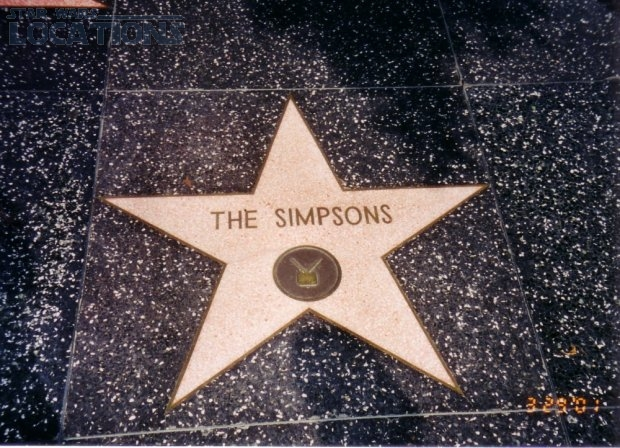 The Simpsons 7021 Hollywood Blvd.