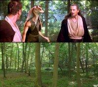 Comparison showing the original movie frame.