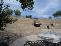 The ancient theatre in Carthage near Tunis served as the Roman ampitheatre.
