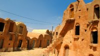 Ksar Ouled Soltane features some structures that are four ghorfas tall!