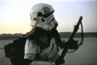 Filmed at El Mirage Dry Lake. Could this be the same location as the landspeeder pickup shoots?