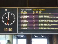 The train to Finse is easy to catch at the Oslo Central train station, just look for the train to Bergen.
