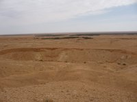 Long-shot of the entire Tanis site from the hill above Sidi Bouhlel.