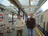Arrival in Watford